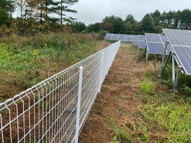 群馬県 太陽光フェンス